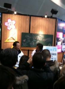 フィッシングショー大阪。おっさんファン多し。
