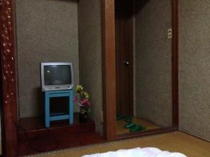 お部屋はこんなのでした。