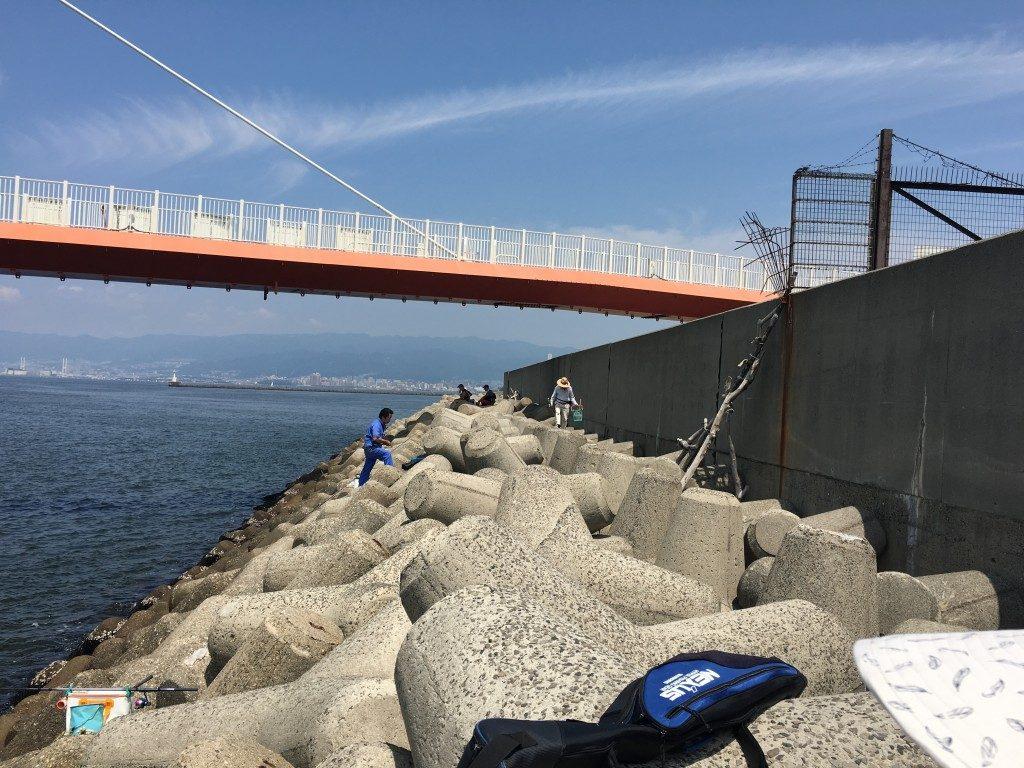 公園 尼崎 海 釣り
